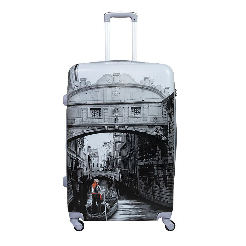 Cestovní kufr ABS VENEZIA TR-A29E S E-batoh