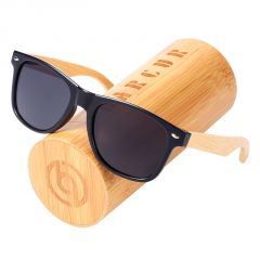SLUNEČNÍ BRÝLE SUNGLASSES POLARIZED - BACK, BROWN WOOD