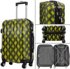 Cestovní kufr BOLOGNA malý S zelený