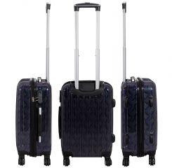 Cestovní kufr BOLOGNA velký L modrý MONOPOL E-batoh