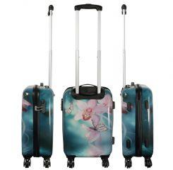 Cestovní kufr ORCHIDEJE střední M MONOPOL E-batoh