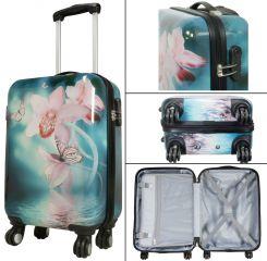 Cestovní kufr ORCHIDEJE malý S MONOPOL E-batoh