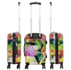 Cestovní kufr ABSTRAKCE střední M MONOPOL E-batoh