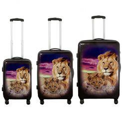 Cestovní kufr LEV střední M