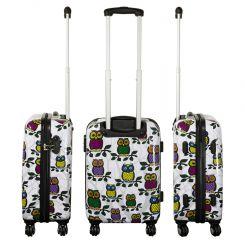 Cestovní kufr Sovičky II malý S MONOPOL E-batoh