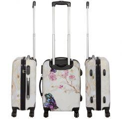 Cestovní kufr Motýl na kytce velký L MONOPOL E-batoh