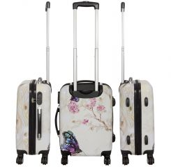 Cestovní kufr Motýl na kytce střední M MONOPOL E-batoh
