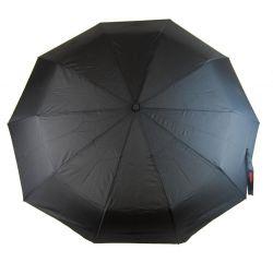 New Berry pánský automatický deštník černý A-011 E-batoh