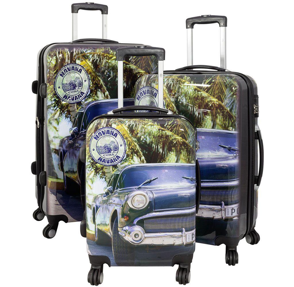 Cestovní kufry sada HAVANA CAR L,M,S