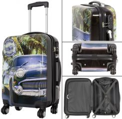 Cestovní kufry sada HAVANA CAR L,M,S MONOPOL E-batoh