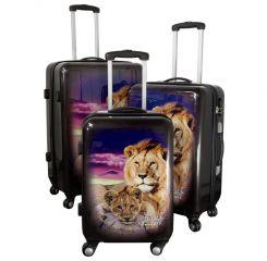 Cestovní kufry sada LEV L,M,S