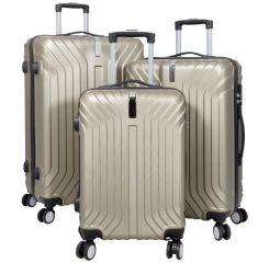 Cestovní kufry sada PALMA L,M,S CHAMPAGNE BRIGHT