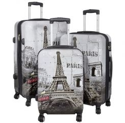 Cestovní kufry sada PARIS II L,M,S