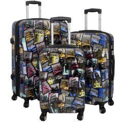 Cestovní kufry sada CITY III L,M,S