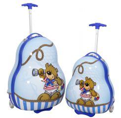 Sada dětských kufříku BEAR BOY 2ks
