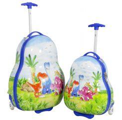 Sada dětských kufříku DINOSAUR 2ks