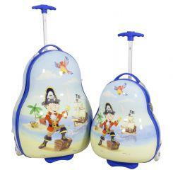 Sada dětských kufříku PIRAT 2ks