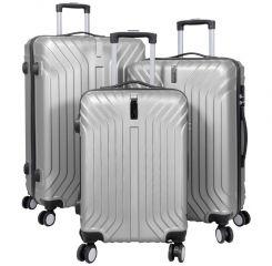 Cestovní kufr PALMA SILVER BRIGHT velký L