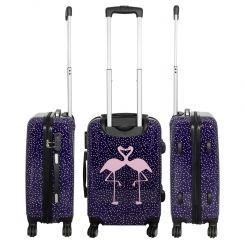 Cestovní kufr FLAMINGO střední M MONOPOL E-batoh