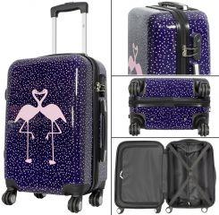 Cestovní kufr FLAMINGO malý S MONOPOL E-batoh