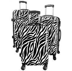 Cestovní kufr ZEBRA střední M