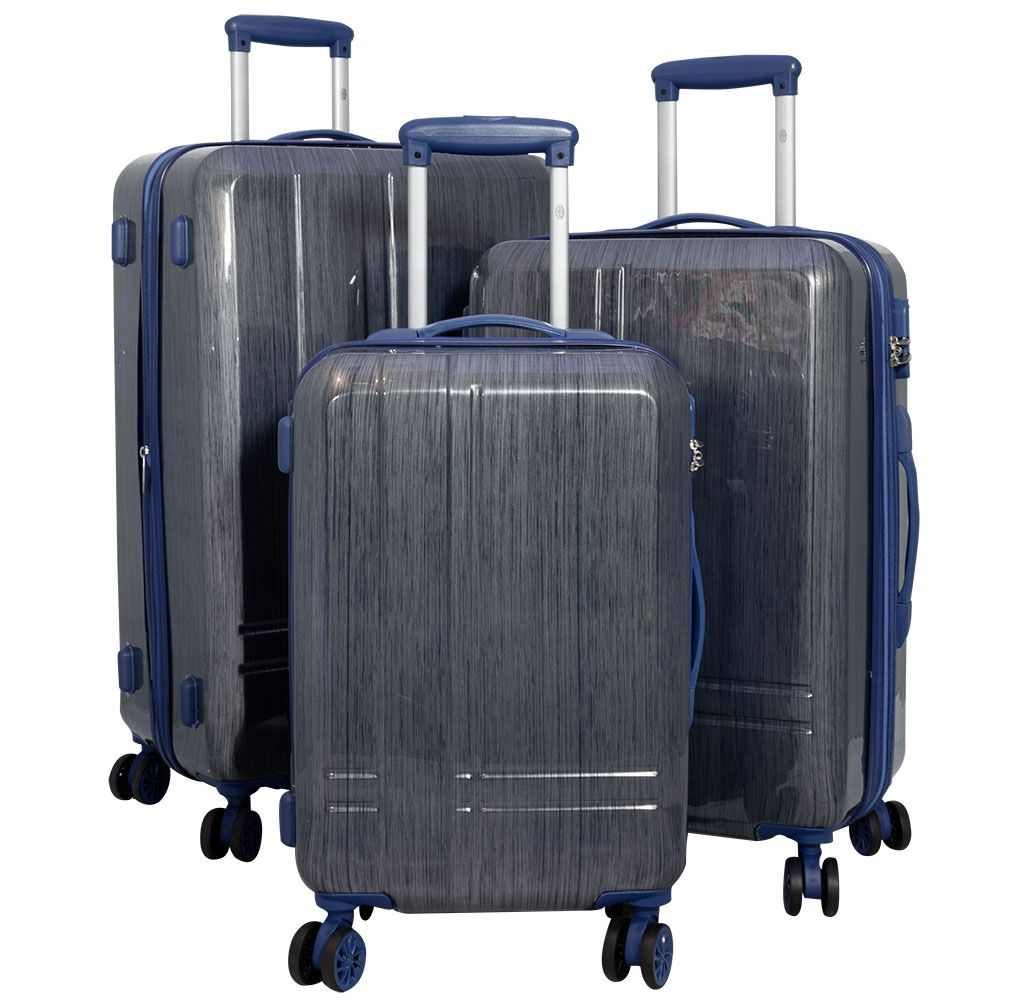 Cestovní kufr SAMOS BLUE BRIGHT malý S MONOPOL E-batoh