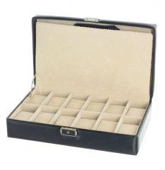 Box na hodinky Carraro Sintesi 233-SI-01 černá E-batoh