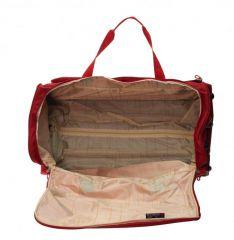 Cestovní taška Dielle 476-02 červená E-batoh
