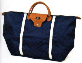 Nákupní skládací taška Dielle BS-3-05 modrá E-batoh