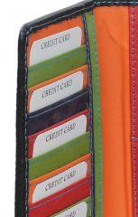 Peněženka Carraro Multicolour 835-MU-01 černá E-batoh