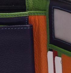 Peněženka Carraro Multicolour 838-MU-01 černá E-batoh
