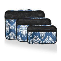 Heys Exotic Packing Cube Set Damask – sada 3 ks