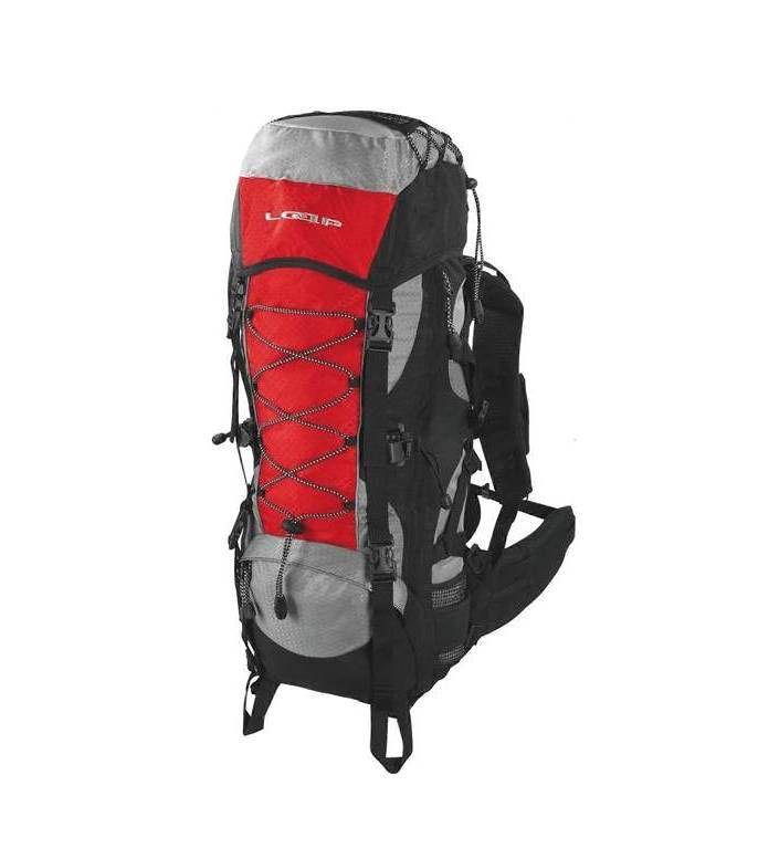 LOAP EIGER 50+10 červená / černá E-batoh