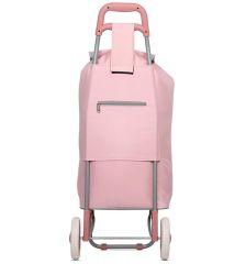 Nákupní taška na kolečkách HOPPA ST-40 - růžová E-batoh