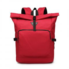 Červený školní batoh Miss Lulu UNISEX