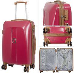 Cestovní kufr ABS Bruggy střední M červený