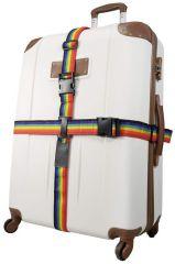 Bezpečnostní popruh na kufr RAINBOW