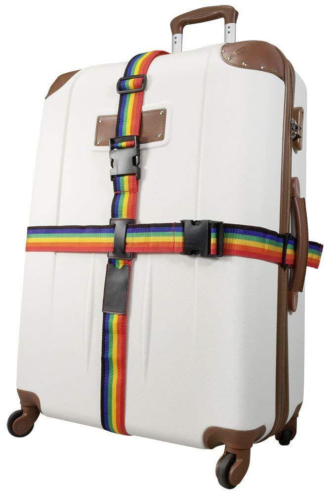 Bezpečnostní popruh na kufr RAINBOW MONOPOL E-batoh