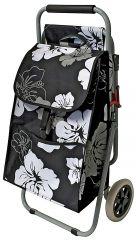 Nákupní taška na kolečkách se židličkou VIRGINIA 42 L