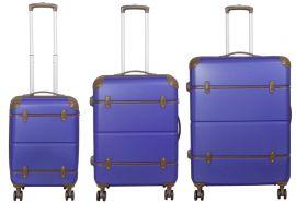 Cestovní kufr ABS BERLIN II BLUE BRIGHT střední M