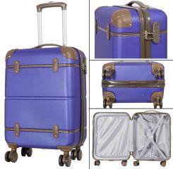Cestovní kufr ABS BERLIN II BLUE BRIGHT malý S