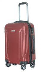 Cestovní kufr ABS T-Class 796 s TSA RED střední M E-batoh