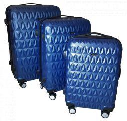 Cestovní kufry sada ABS T-Class 3018 BLUE