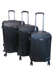 Cestovní kufry sada ABS T-Class 796 s TSA BLACK
