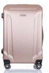 Cestovní kufr ABS T-Class 796 s TSA CHAMPAGNE střední M