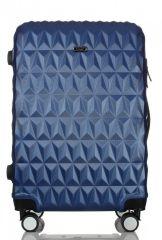 Cestovní kufr ABS T-Class 3018 BLUE střední M