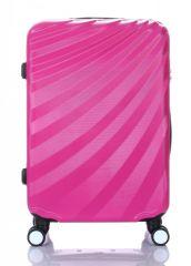 Cestovní kufr ABS T-Class 3019 PINK střední M
