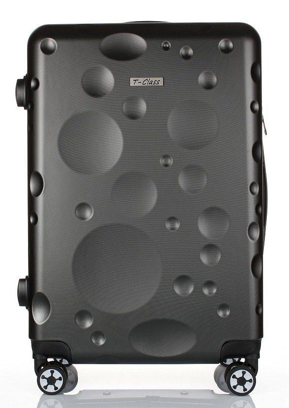 Cestovní kufr ABS-PC T-Class 628 s TSA GREY střední M E-batoh
