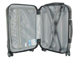 Cestovní kufr ABS T-Class 796 s TSA RED malý S E-batoh