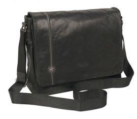 Taška kožená BHPC Explore  BH-384-01 černá